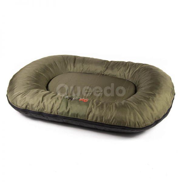 Tmavozelený vankúš pre psa Comfort Queedo