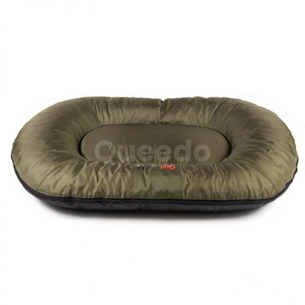Vankúš pre psa Comfort tmavozelený Queedo