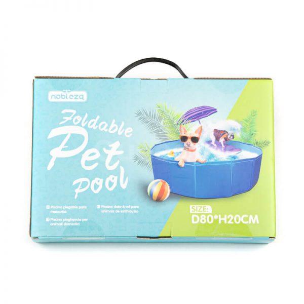 Odolný bazén pre psov COOL modrý