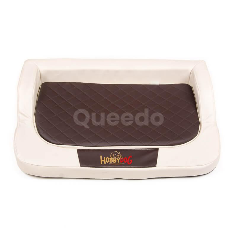 Kvalitný ortopedický pelech pre psa Medico béžovo hnedý Queedo
