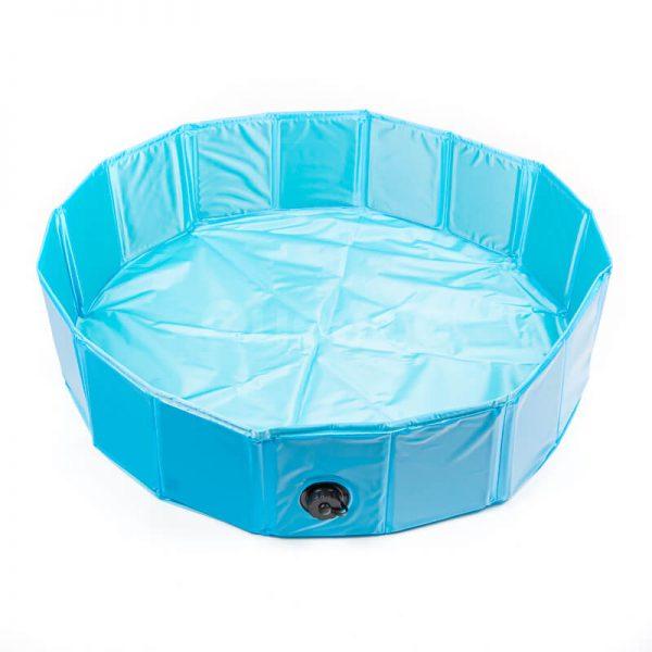 Praktický bazén pre psa COOL modrý