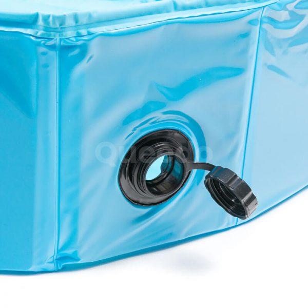 Bazén pre psov COOL modrý detail