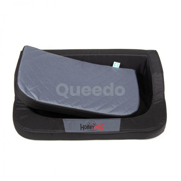 Praktický ortopedický matrac pre psa Medico čierno šedý